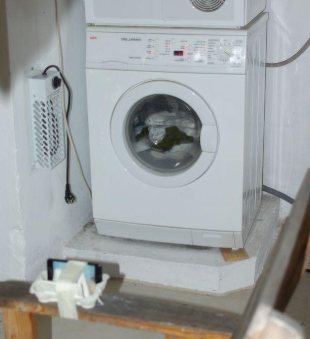 waschmaschine am boden fixieren