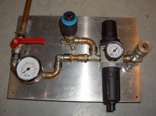 Druckluftleitung werkstatt verlegen