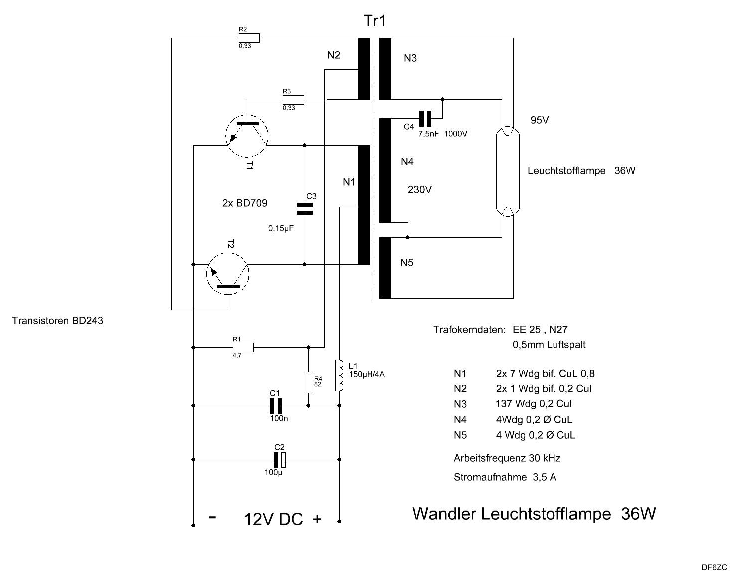 Großzügig Schaltplan Für Leuchtstofflampen 4 Fotos - Der Schaltplan ...