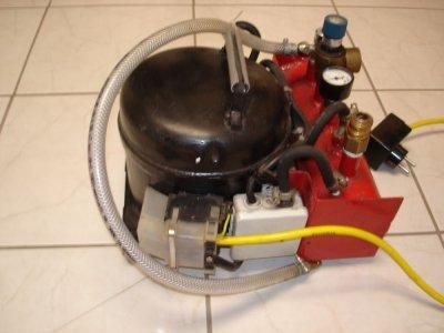 Aufbau Kühlschrank Kompressor : Kühlschrank motor aufbau diy ultra quiet shop kompressor aus